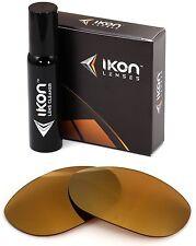 Polarized IKON Iridium Replacement Lenses For Oakley Twenty XX 2012 24K Gold