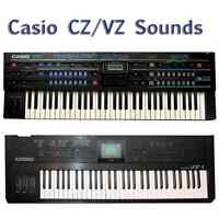 Most Sounds: Casio CZ-1 CZ-101 CZ-1000 CZ-3000 CZ-5000 VZ-1 VZ-8m VZ-10m
