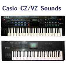 Casio CZ-1 CZ-101 CZ-1000 CZ-3000 CZ-5000 VZ-1 VZ-8m VZ-10m Most Sounds Anywhere