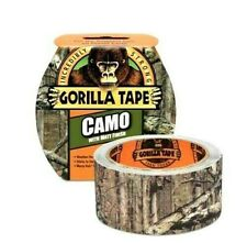 Gorilla Camo Tape 48mm x 8M Strong Camouflage Tape Hunting Army Duct Gaffer NEW
