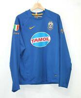 Juventus Nike Dri-Fit Football Shirt Jersey 2005/2006 Long Sleeves Centenario M