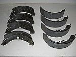 Brake Shoes for Rolls Royce SIlver Clouds & Bentley S (Front & Rear with Pads)