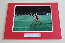 Alan Kennedy Liverpool 1984 mano firmado Autógrafo Foto Montaje + Certificado de Autenticidad de prueba exactas