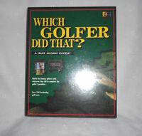 Which Golfer Said That? A Quiz Jigsaw Puzzle 252 Pieces 19x24 Buffalo Games