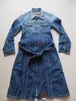 Levi's Jeans Jacke Mantel Jeansmantel Gr. XS, NEU ! faded Vintage Denim, KULT !