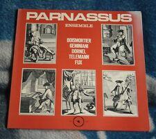 PARNASSUS ENSEMBLE FUX DORNEL TELEMAN BOISMORTIER 1976 LP BELGIUM ALPHA DB 248