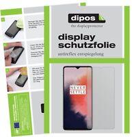 6x OnePlus 7T Film de protection d'écran protecteur antireflet dipos
