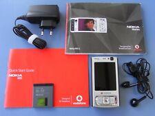 Nokia  N95 - Silber (Ohne Simlock) slider Schiebehandy Smartphone
