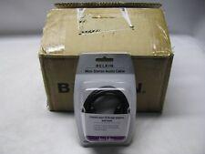 Belkin F8V203-06 6' 3.5mm Mini-Stereo Dubbing Plug Lot of 10 *New Sealed*