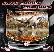 H85 CAMO BOW HUNTER Hood Wrap Wraps Decal Sticker Tint Vinyl Image Graphic