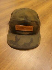 AUTHENTIC SUPREME x LOUIS VUITTON SS17 CAMO CAP