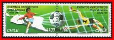 CHILE 1991 FOOTBALL CUP MNH SOCCER, SPORTS