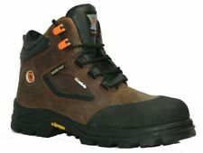 MENS SIZE 4 JALLATTE POLACCO GORE FULL GORTEX VIBRAM WATERPROOF SAFETY BOOTS