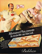 PUBLICITE ADVERTISING 104  1980  BAHLSEN   biscuits KIPFERL