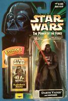 Star Wars Darth Vader w/ Lightsaber, Flashback Photo green card POTF