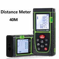 40m Digitale Laser Misuratore Di Metro Telemetro Distanziometro Rangefinder