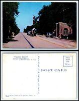 INDIANA Postcard-Chesterton, Indiana Dunes State Park , Entrance & Gatehouse M42