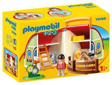 PLAYMOBIL Maneggio Portatile 1.2.3 70180 PLAYMOBIL
