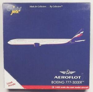 GeminiJets GJAFL1278 Aeroflot Boeing 777-3M0ER 1/400 Scale Diecast Model