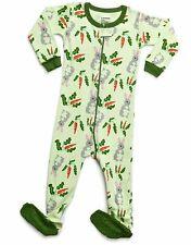 Leveret Baby Boys Girls Footed Pajamas Sleeper 100% Organic Cotton Kids & Tod.