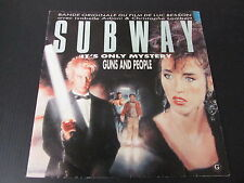 "SUBWAY   BOF ERIC SERRA LUC BESSON   SP 45T 7""   1985"