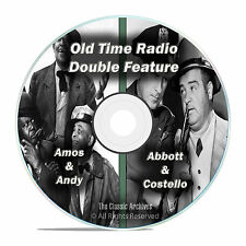 Amos & Andy, Abbott & Costello, 707 FULL RUN COMPLETE SHOWS, OTR MP3 DVD F76