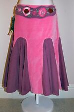NWT BEETLEJUICE Velvet and Corduroy Long Skirt, sz 12