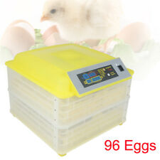 96 Egg Incubator Digital Automatic Turner Hatcher Chicken Temperature Control Us