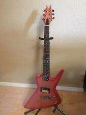 Vintage 1983 Dean Z/Baby Z Shrimp Fork 24 Fret Electric Guitar Made In USA