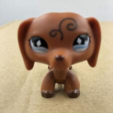 Littlest Pet LPS #640 Shop Tattoo Dachshund Dog Puppy Doll Rare Collection Toy