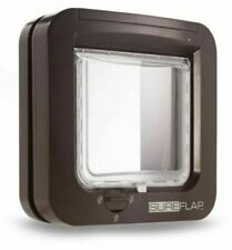 SureFlap (SUR001BR) Microchip Cat Flap - Brown NEW