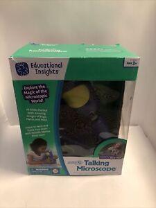 GeoSafari Jr. Talking Microscope Kids STEM & Science Toy Interactive Learning