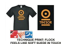 T-shirt Mens/Womens, Tresor Berlin,Techno Music,DJ, Dance, Brand New 100%Cotton