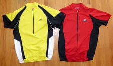 ** BELLWETHER **  2 Womens Cycling Jerseys Zipper Pockets L