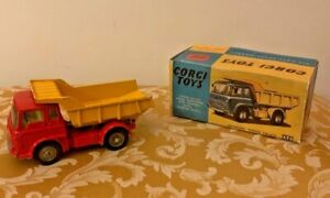 Corgi Toys No. 494 Bedford Tipper Truck inVery Good Original Condition with Box!