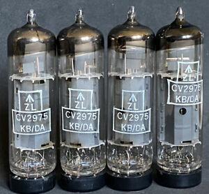 STRONG NOS MATCHED QUAD OF MULLARD BLACKBURN CV2975 EL84 kM1 CODES 1967