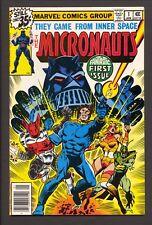 Micronauts #1 (1979)~1st Baron Karza appearance~VF/NM