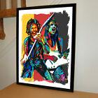 Rudolf Schenker Matthias Jabs Scorpions Guitar Music Poster Print 18x24