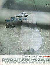 Publicité 2002  NIKE basket SPORT 2000 chaussure collection mode pret à porter