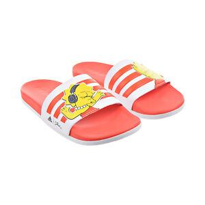 "Adidas Simpsons ""Lisa"" Adilette Comfort Women's Slides Cloud White-Orange GV7251"