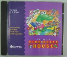 Trudy's Time & Place House *Vintage Pc game 1995 *Edmark *Win/Mac
