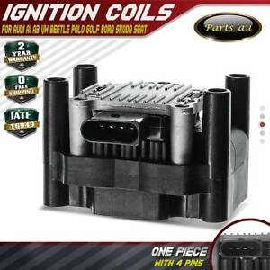 Ignition Coil Pack for Audi A1 A3 VW Beetle Polo Golf Bora Jetta Skoda Seat 1.6L