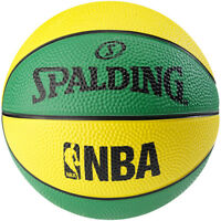 Spalding Street Miniball Fun Size 1 Durable Mini Rubber Basketball