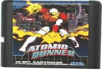 Atomic Runner (1988) 16 Bit Game Card For Sega Genesis Mega Drive Fast Shipping