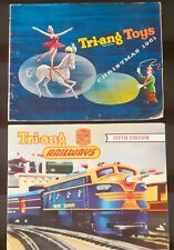 x2 Vintage Original Tri-ang Toy and Railway Catalogues