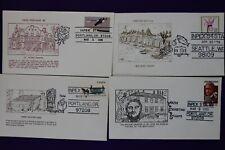 Inpex show cachet lot philatelic souvenir cover Portland Seattle Or 1980-1985