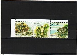 Briefmarken Aland 2017 Säugetiere im Wald Satz Postfrisch 3,30€