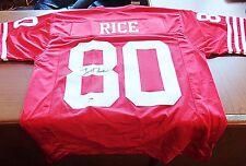 Jerry Rice Autographed Auto Signed Jersey SF 49ers PSA/DNA COA HOF Signature