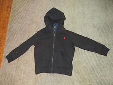 Ralph Lauren Boys Black Hoodie - Size 4 - NWT