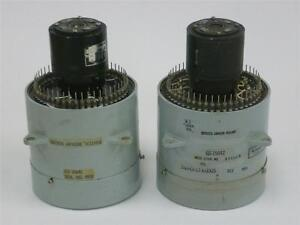 2 Vintage Western Electric Rotary Switches Multiplexers Military Missile Command